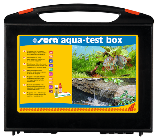 Sera Aqua-Test Box Master Test Kit