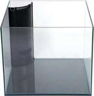 Marineland 93 Gallon Cube Frameless Corner-Flo, Reef Ready, Aquarium 30x30x24