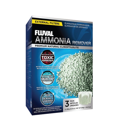A1480 015561114806 Fluval Canister Ammonia Remover 3 pack