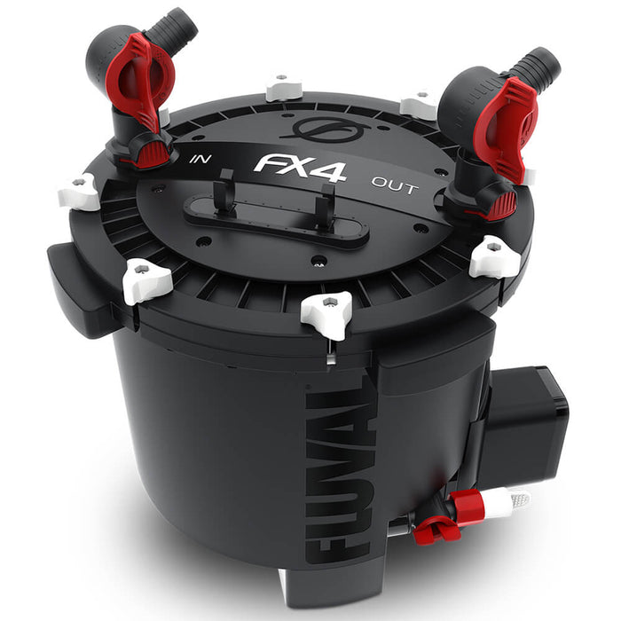 Fluval FX4 Canister Filter - Filters up to a 250 Gallon Tank