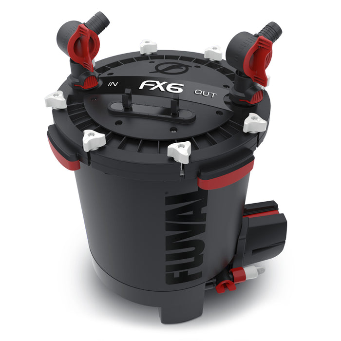 Fluval FX6 Canister Filter - Filters up to a 400 Gallon Tank