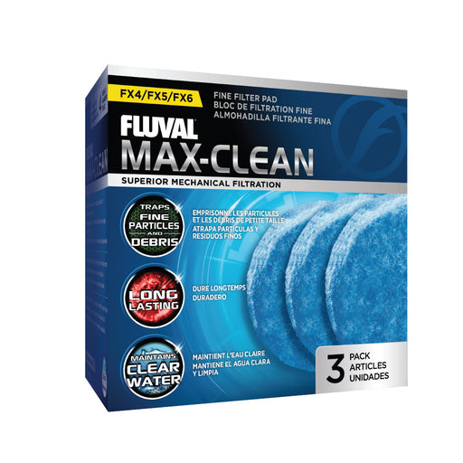A248 015561102483 blue fine foam fx4 fx5 fx6 Max-Clean Max Clean FLuval Canister A-248