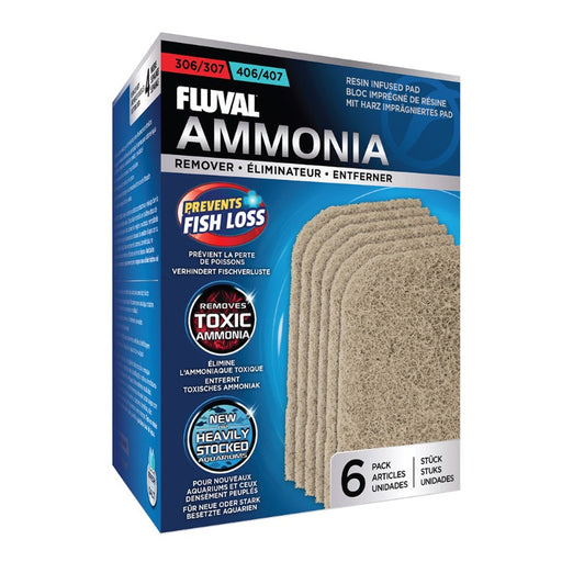 A258 015561102582 Ammonia remover pads Fluval 306 307 406 407 canister filter