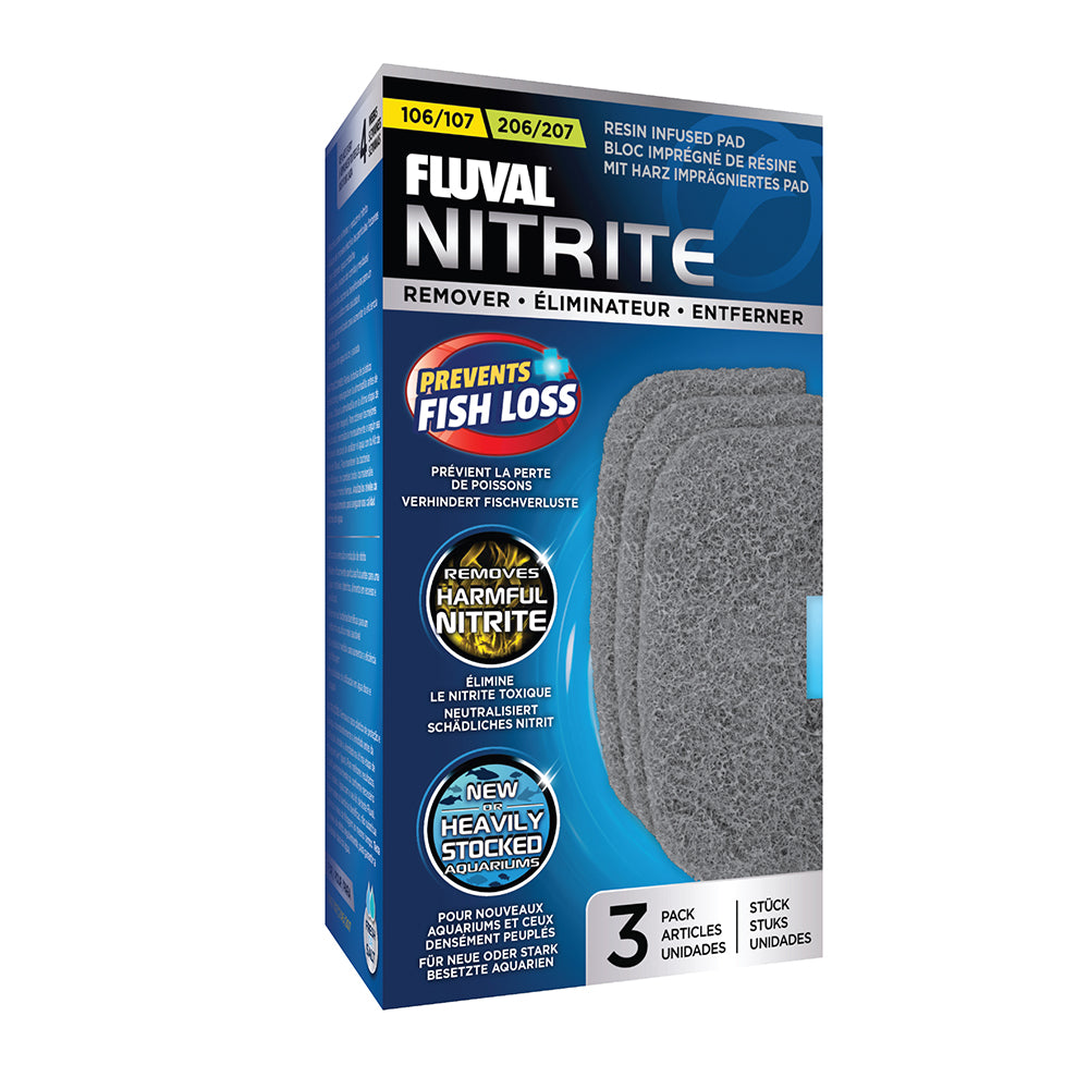 A263 015561102636 Fluval Nitrite remover pads nitrate 107 207