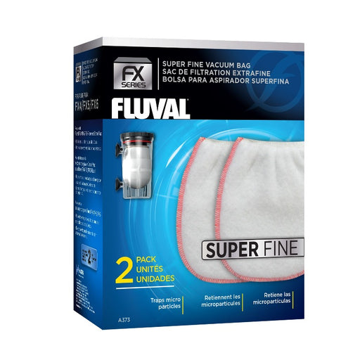 Fluval FX Canister Filter Gravel Vacuum Bag - Super Fine 2/pk A372 015561103725