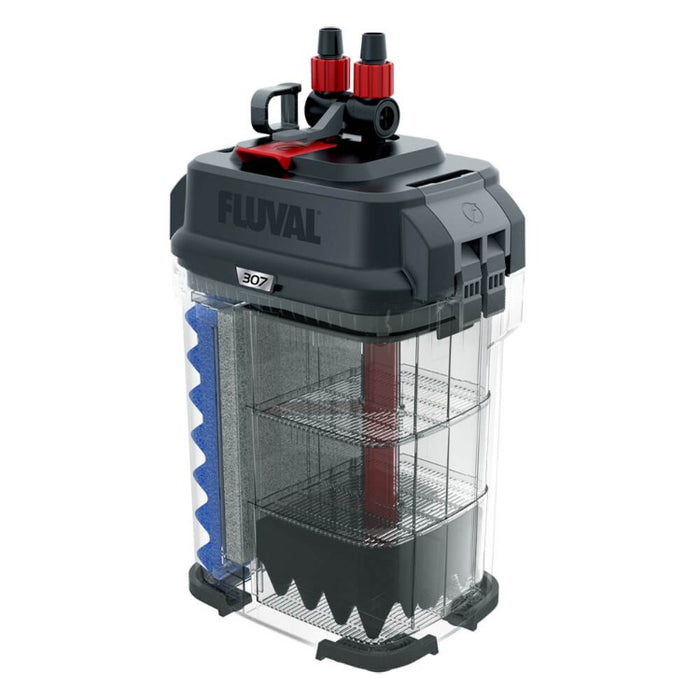 Fluval 307 Performance Canister Filter with Media - Up to 70 Gallon Aquarium