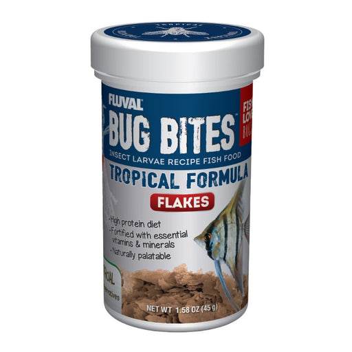 015561173315 A7331  Tropical Bug Bites Formula flake flakes fluval soldier fly