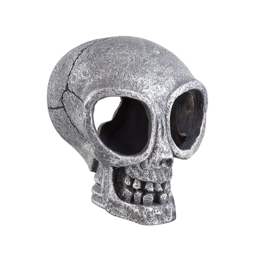 Aquarium Fish Tank Decoration Alien Head Skull Ornament