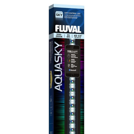 14534 015561145343 Fluval Aquasky Bluetooth 2.0 LED 35w 48-60 inch Light Fixture