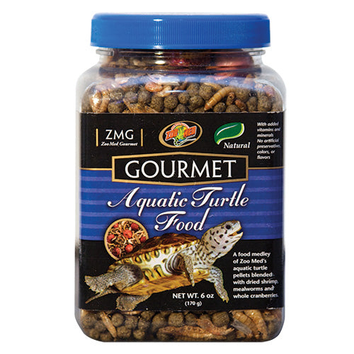 Zoo Med Gourmet Aquatic Turtle Food 6 oz