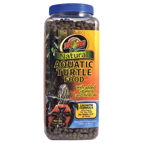 Zoo Med Aquatic Turtle Growth Food 13 oz