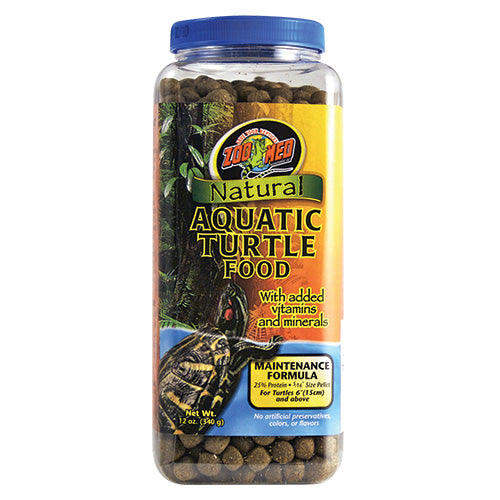 Zoo Med Aquatic Turtle Maintenance Food 12 oz
