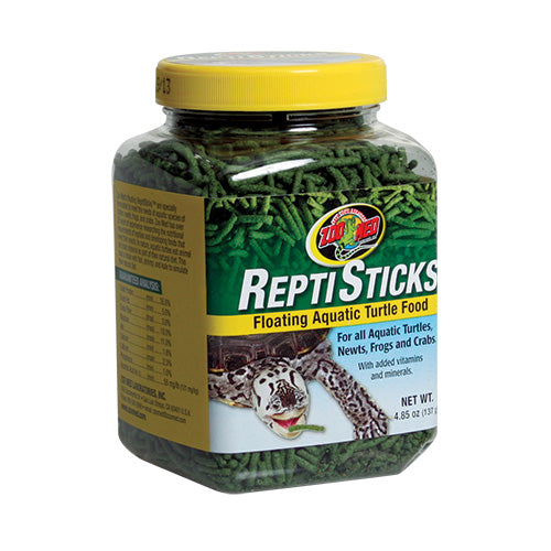 Zoo Med ReptiSticks Aquatic Turtle Food 4.85 oz