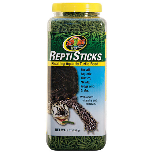 Zoo Med ReptiSticks Aquatic Turtle Food 8 oz
