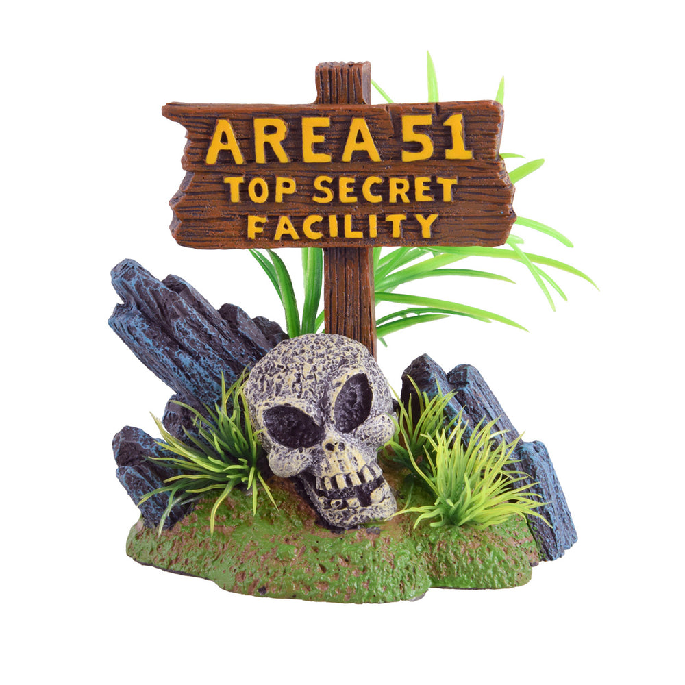 Area 51 Aquarium Reptile Terrarium Ornament decoration