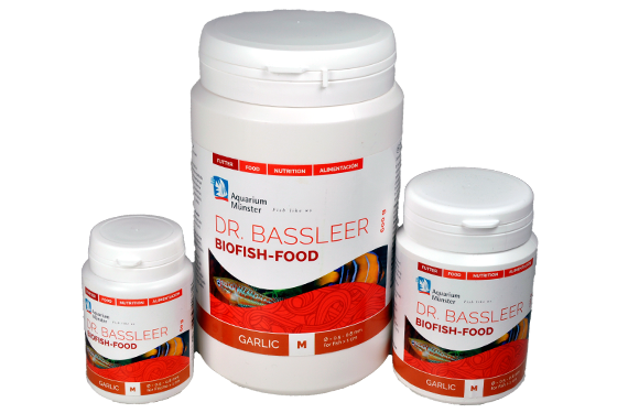 Aquarium Munster Dr. Bassleer Biofish Food Garlic Formula