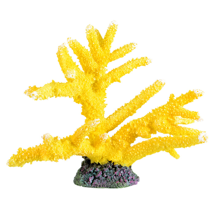 Ornament Branch Coral - Sun Yellow