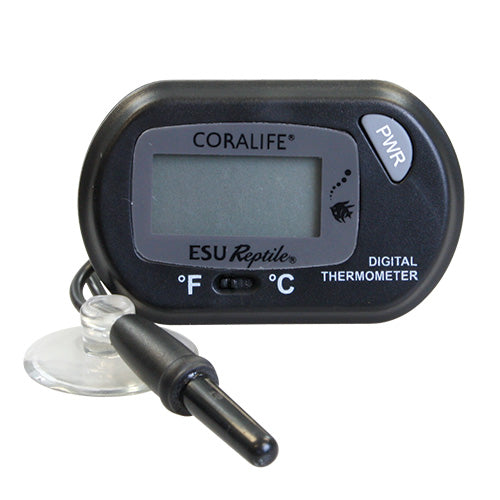 096316002326 100105032 Digital LCD LED Thermometer Cora life coral coralife