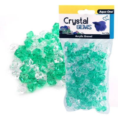 Acrylic Crystal Gems Gravel 5 oz - Lucky Charm