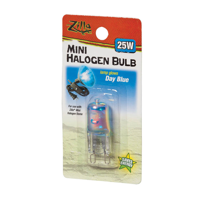 100115631 096316156319  Zilla Day Blue Mini Halogen Bulb 25w 25 watt w watts