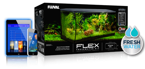 Fluval Flex 32.5 Aquarium Kit 32.5 Gallon