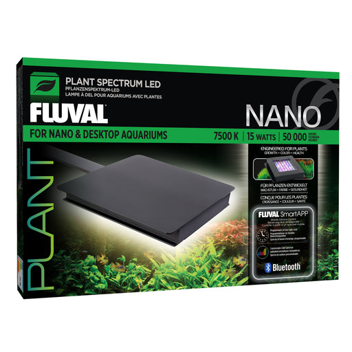 Fluval Nano Plant Spectrum 3.0 LED - Compact 15 Watt Freshwater Lighting  14539 015561145398
