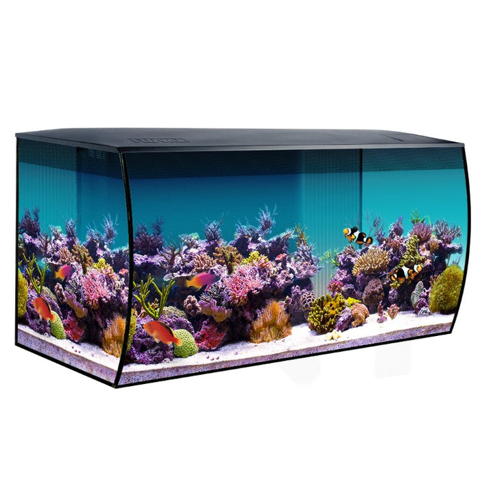 015561149945 Fluval Sea Marine Saltwater Flex 32 gallon 32.5 gal starter kit 14994