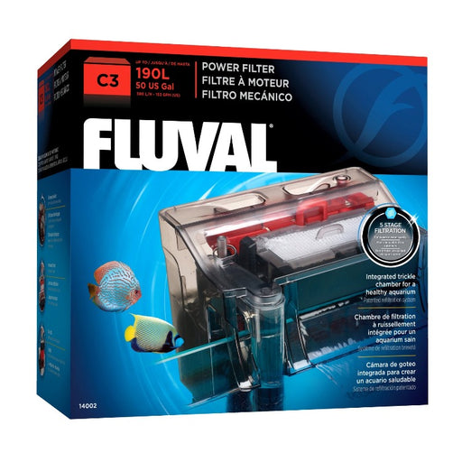 Fluval C3 Power Filter up to 50 Gallon Aquarium