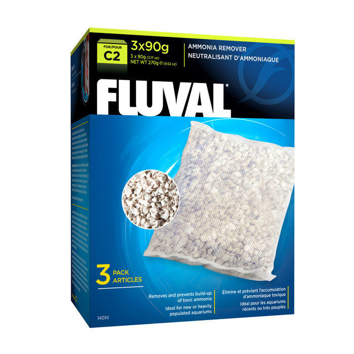 Fluval C2 Power Filter Ammonia Remover Insert 3 Pack