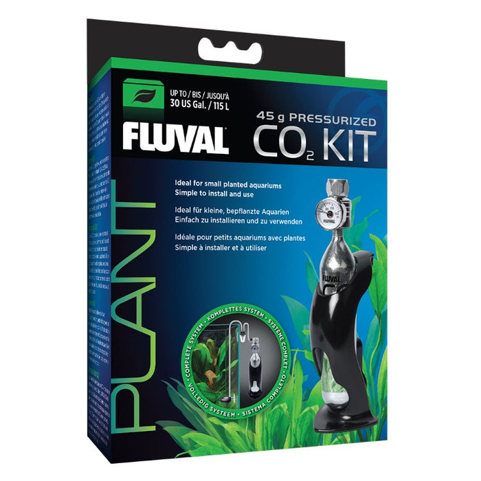 Fluval 45 gm CO2 Kit for Tanks up to 30 Gallons