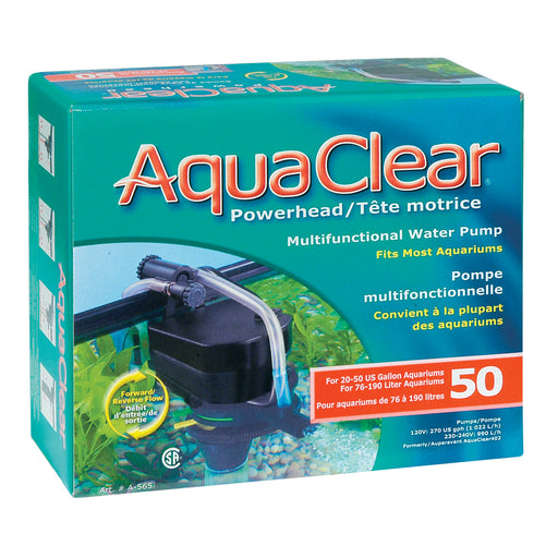 Hagen Fluval AquaClear Aqua clear powerhead power head water pump aquarium fish tank a565 50 015561105651 gallon 270 gph