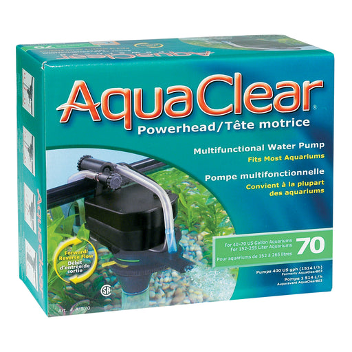 fluval aquaclear aqua clear hagen powerhead power head water pump aquarium fish tank 015561105705 70 75 gallon