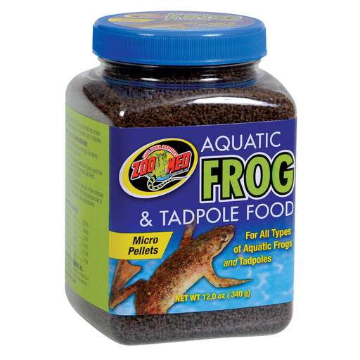 Zoo Med Aquatic Frog & Tadpole Food 12 oz