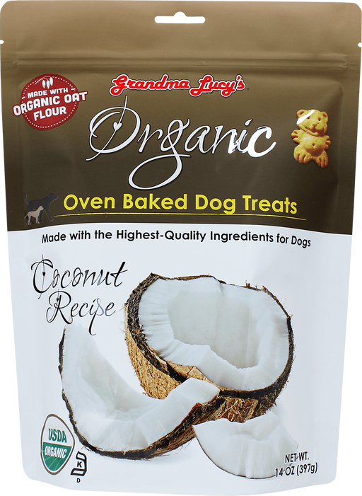884308220175 Grandma Lucy Lucys Lucy's Organic coconut Oven baked organic dog treat