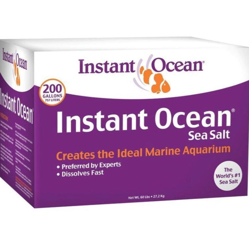 Instant Ocean Marine Sea Salt 200 Gallon Box Mix SS1-200  051378014021