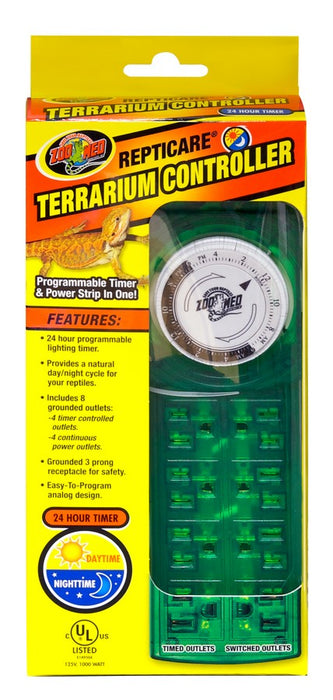 097612327120 Repticare Zoomed Zoo Med  Terrarium Controller