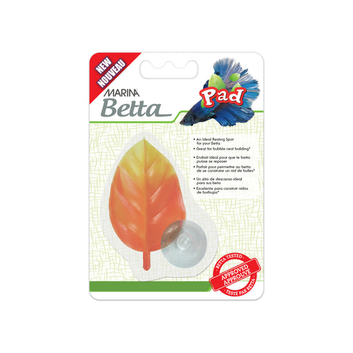 Marina Betta Leaf Pad, Orange