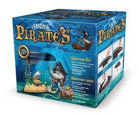 Marina Pirates Aquarium Kit 1 Gallon