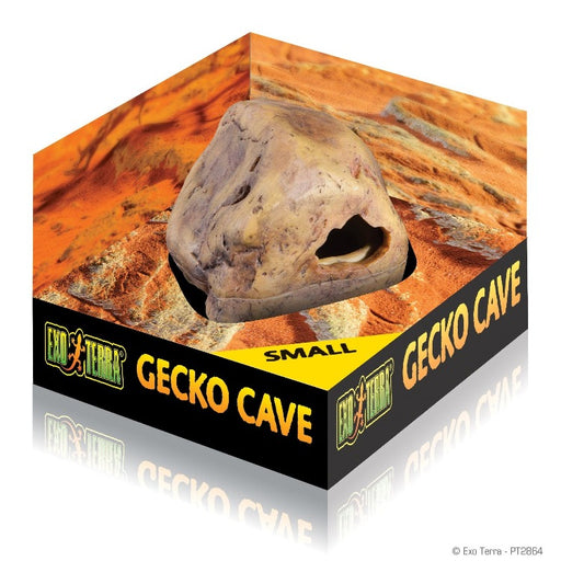 Exo Terra Gecko Cave Hideout - Small 015561228640 PT2864 reptile decoration hide ornament terrarium