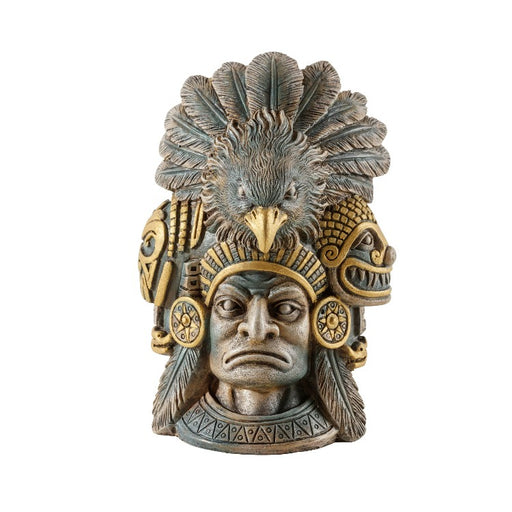 exo terra aztec warrior hide ornament decor PT3167