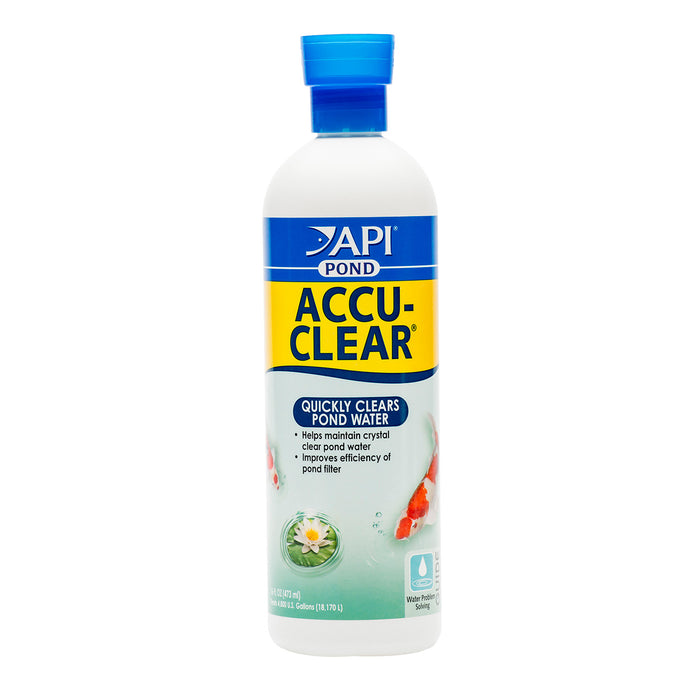 API Pond AccuClear Takes Care of Cloudy Water