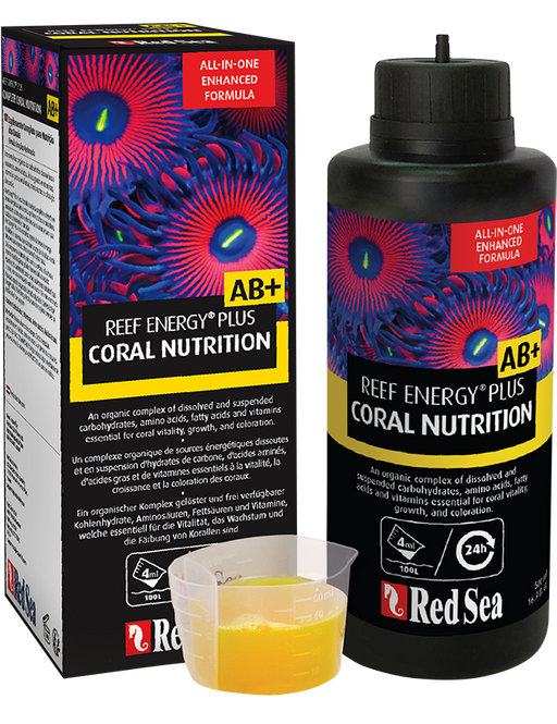 Red Sea REEF ENERGY PLUS All-In-One Coral Superfood AB+ R22102 R22103 R22104  730773221028 730773221042  730773221035