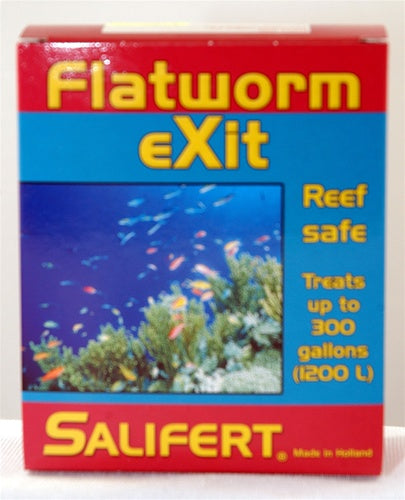 Salifert Flatworm eXit - Eliminates Flatworms