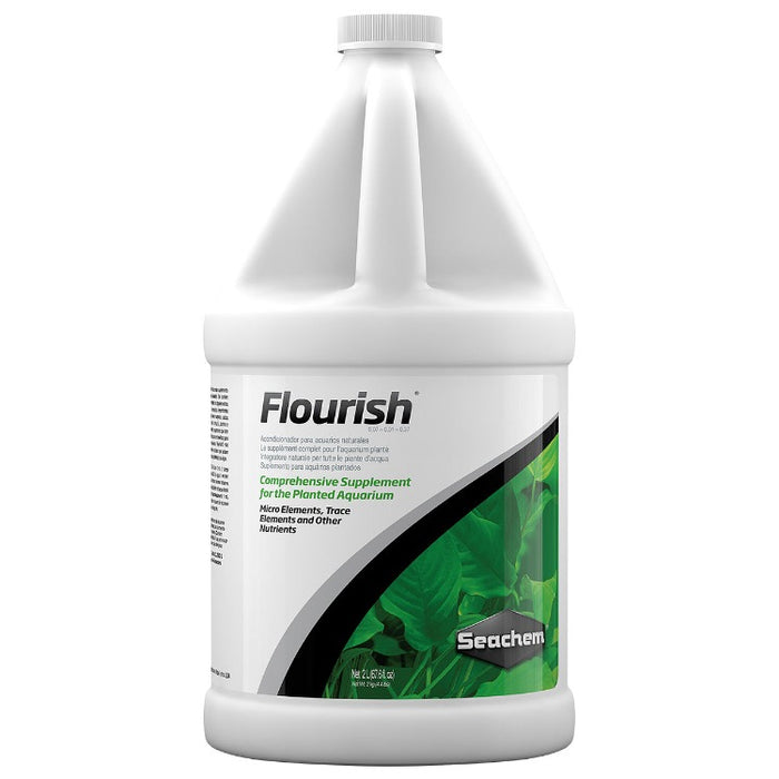 Seachem Flourish 2L 2 L liter liters comprehensive plant fertilizer aquatic 0518 000116051804