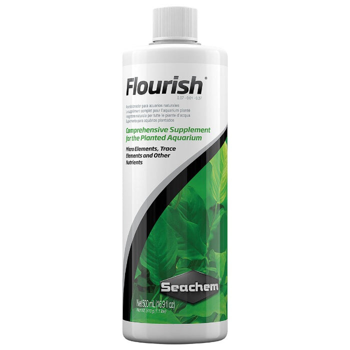 Seachem Flourish 500 ml comprehensive plant fertilizer aquatic 0513 000116051309