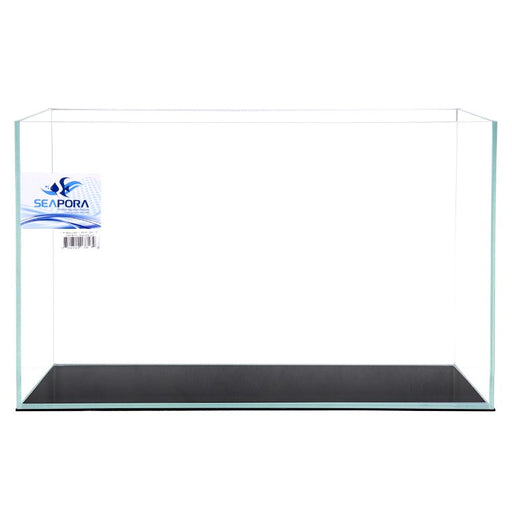 Seapora 17 Gallon Rimless Crystal Series Aquarium 24x12x15