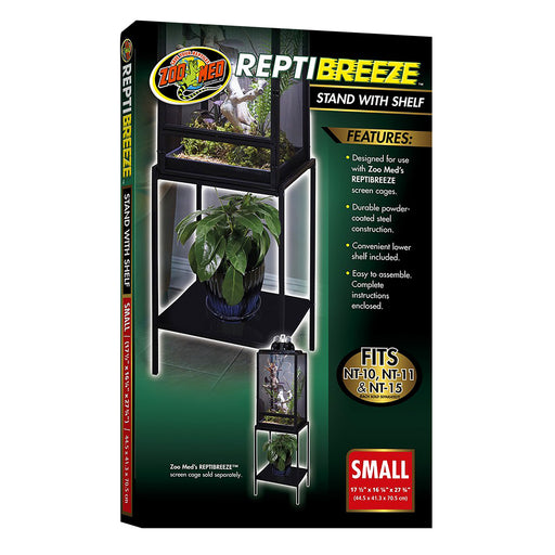 Zoo Med ReptiBreeze Stand With Shelf