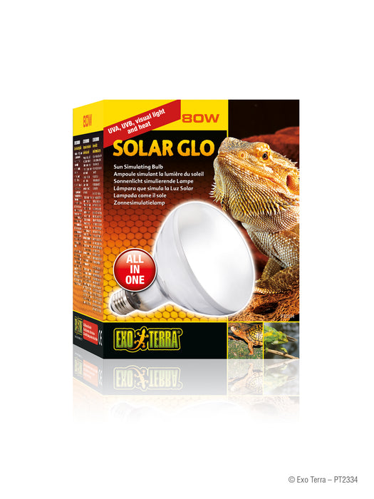 Exo Terra Solar Glo Mercury Vapor Lamp - Sun Simulating, All-In-One Bulb