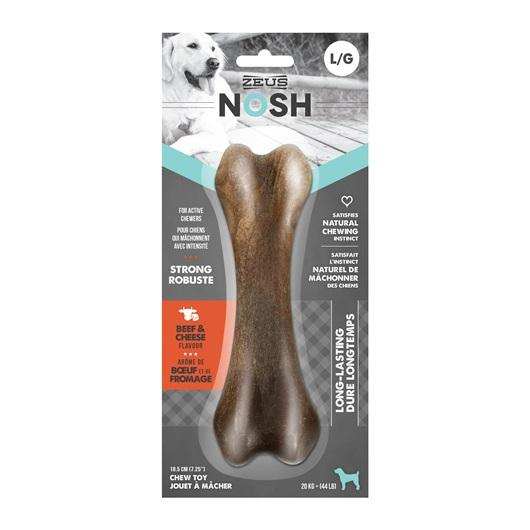 Zeus Nosh Strong Bone Beef & Cheese Flavor