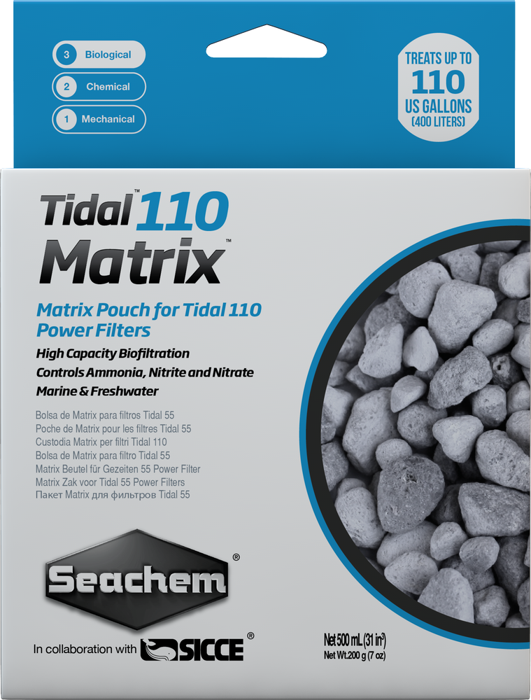 Seachem Tidal 110 Matrix™ Filter Biomedia